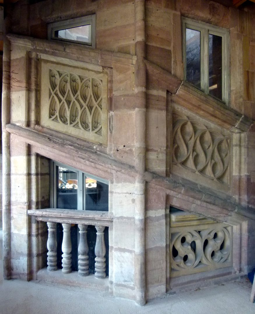 Peller House Stairwell