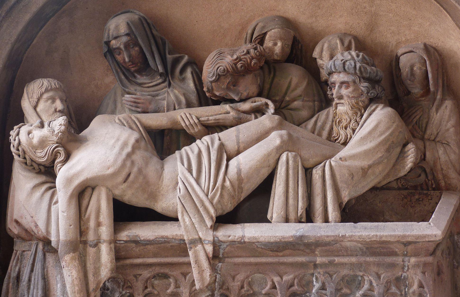 Grablegung Christi Hauptszene
