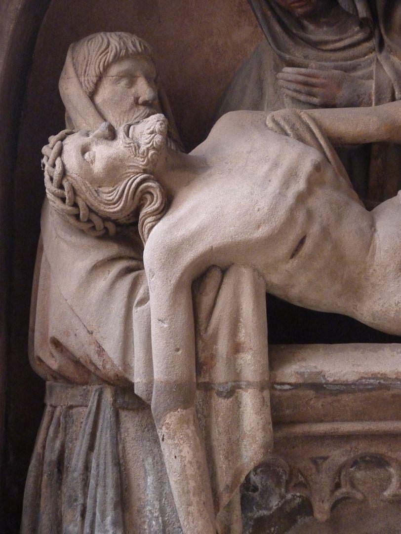 Grablegung Christi Der tote Christus mit Joseph von Arimathäa