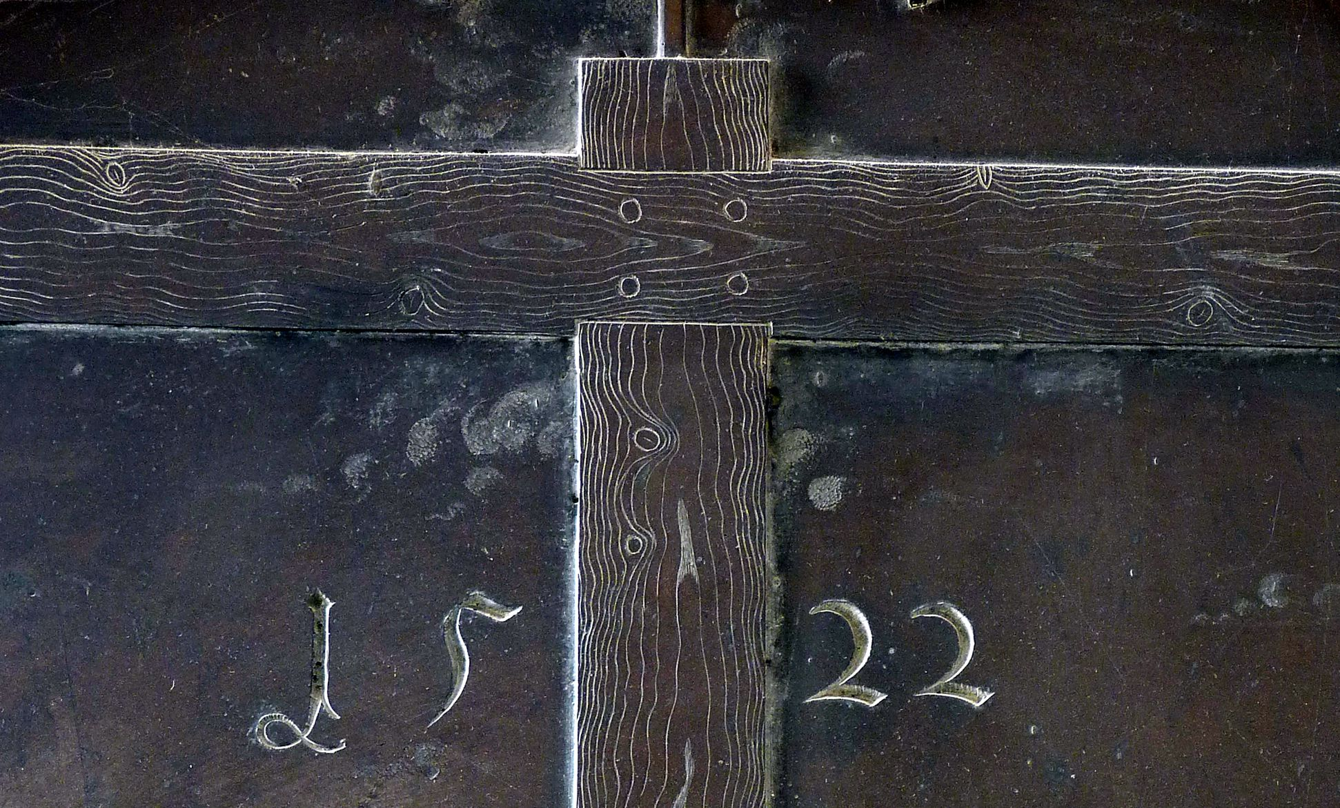 Weeping over the dead Christ: Epitaph Eisen-Behaim Cross, dated 1522