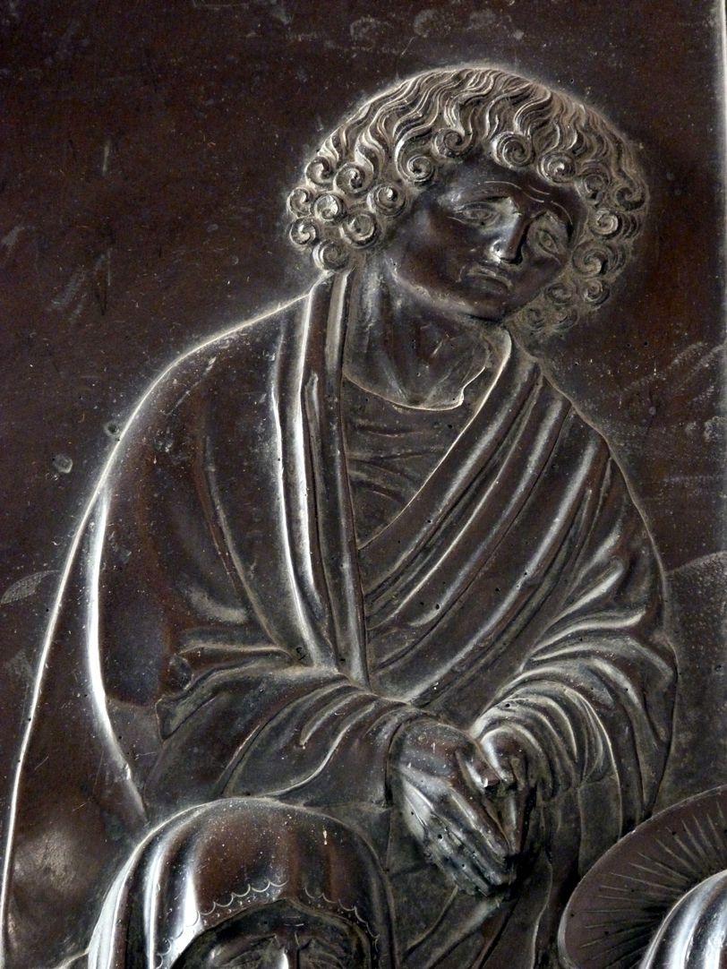 Weeping over the dead Christ: Epitaph Eisen-Behaim St. John