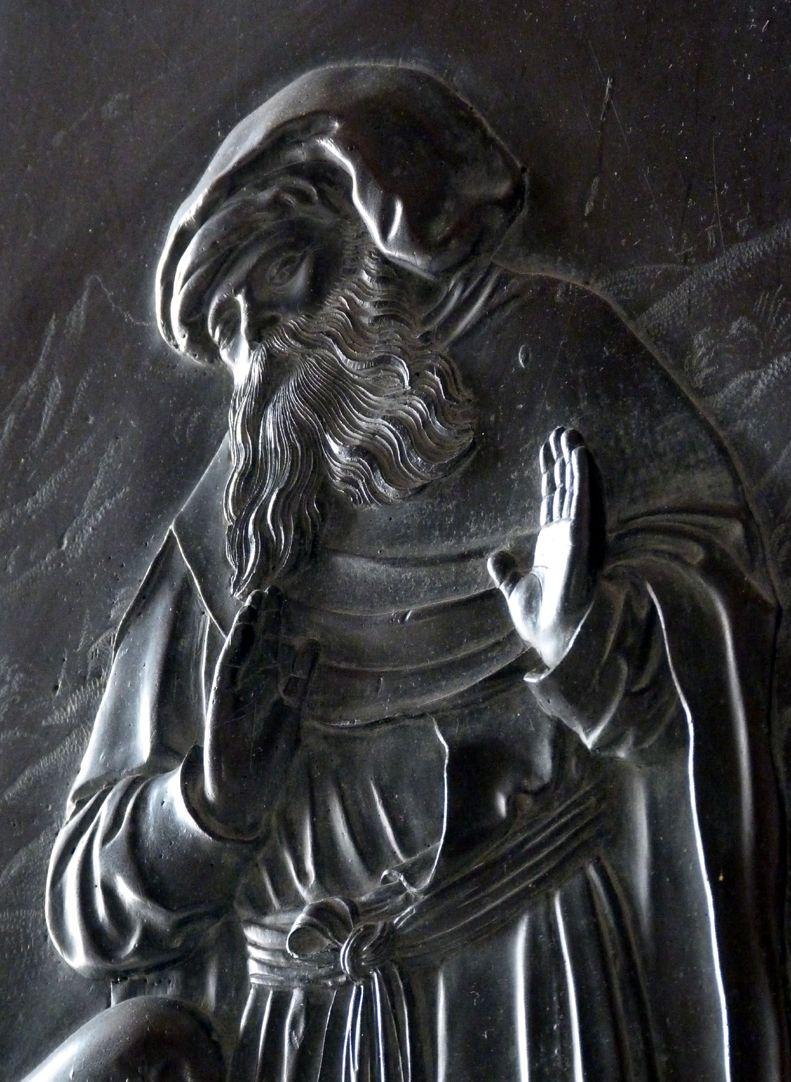 Weeping over the dead Christ: Epitaph Eisen-Behaim St. Nikodemus