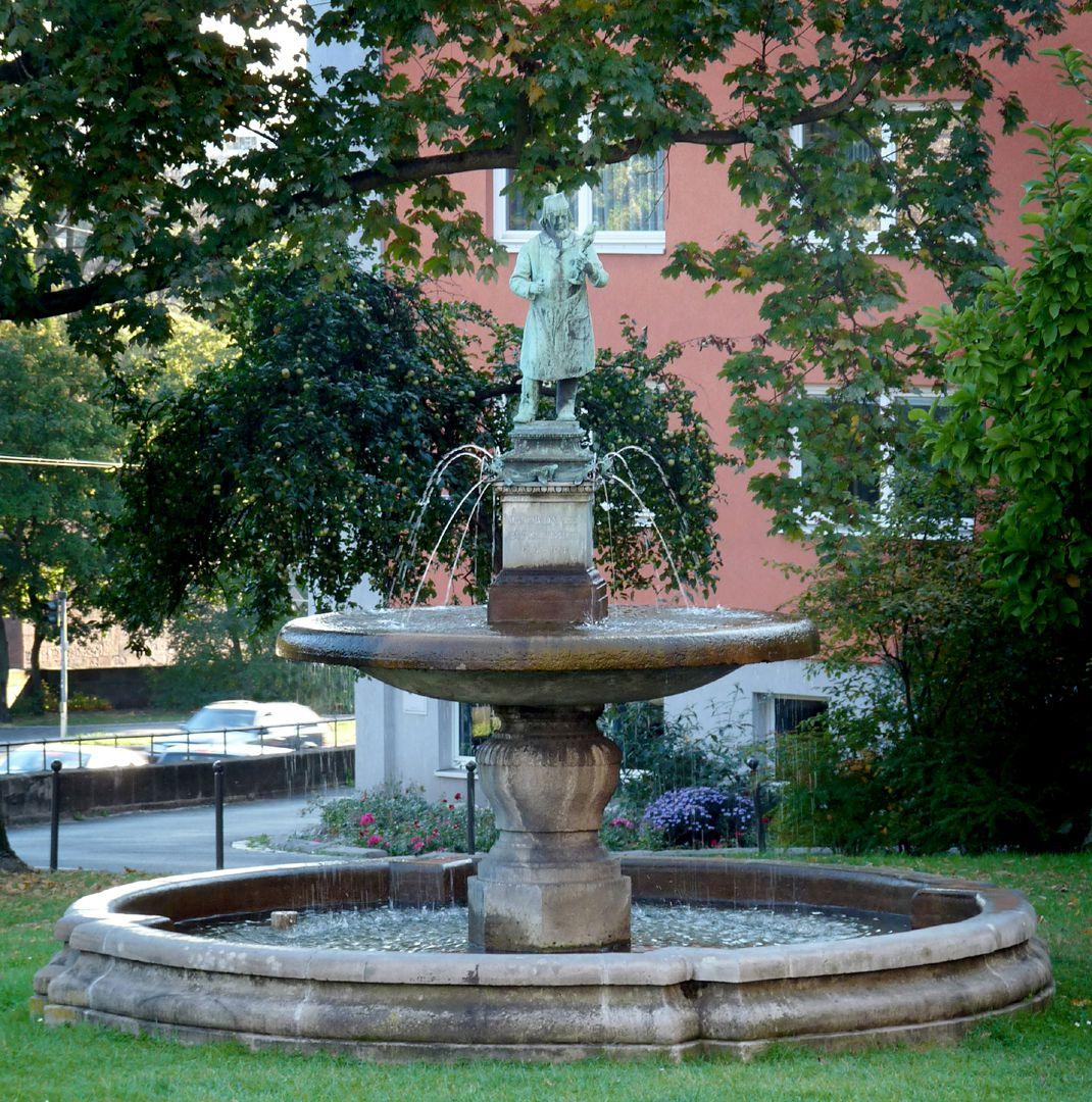 Burgschmiet Fountain Total view