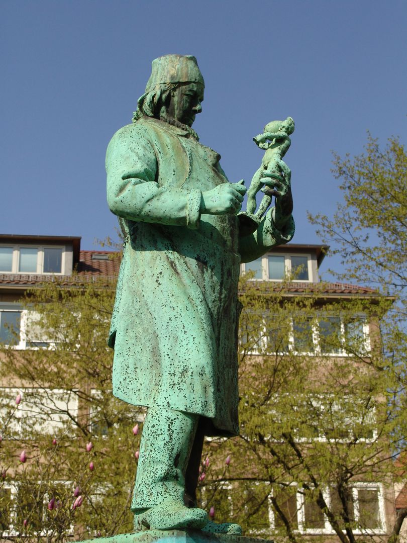 Burgschmiet Fountain Statue